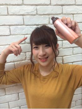髪にも香水...☆_20170204_2