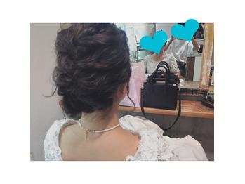 ◯ 結婚式前撮り hairmake ◯_20161103_2