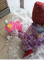 雪遊び(^^)