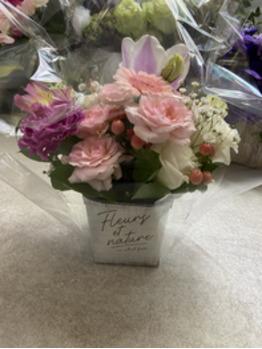 ☆お花ありがとうございます☆そしてバチバチカット♪_20210210_1