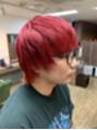 ☆パンキッシュなレッドヘア☆