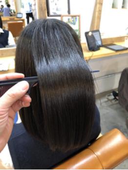 すかれて広がってしまう髪に形状記憶ヘアエステ☆_20190629_1