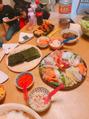 平成最後は手巻き寿司