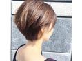 ショートヘア×インナーカラー