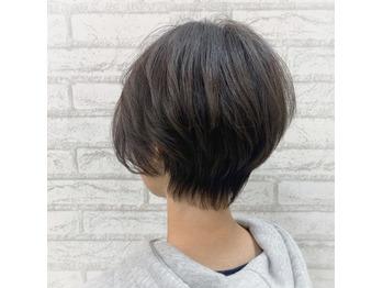 柔らかい質感のショートヘア♪_20210423_1