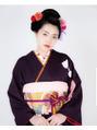 日本髪で成人式もいいですね(^^)