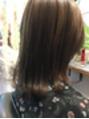 艶髪アッシュカラー
