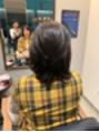 髪の毛をバッサリカット