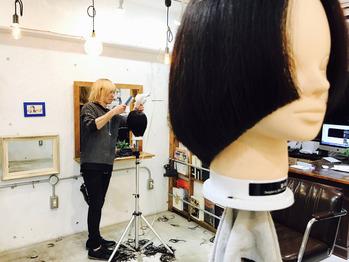 美容師の練習って...?