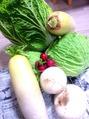 新鮮野菜です。