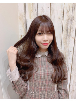 髪質改善美髪コース☆上野瞳ちゃん_20181125_1