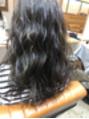 色の抜けた髪を暗くたい方へ