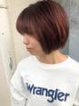 natural short × brick red