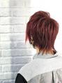 ☆メンズ 赤髪 ☆