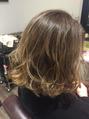 本日の美髪カルテ「3Dカラー」