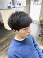 メンズ レオ 天六店(men's LEO)【天六メンズ】ショートセンターパート!