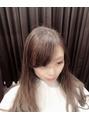 【担当arima】前髪の簡単コテ巻き方法