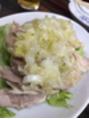 蒸し鶏×中華◎