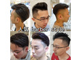 barber風人気style