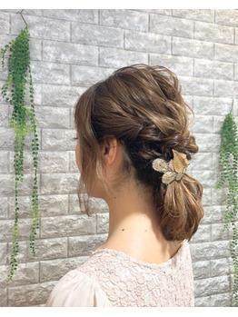 結婚式のヘアアレンジ♪_20180403_2