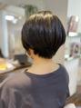 神戸 舞子 ショートヘア