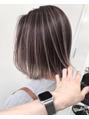 【松永blog】トレンドのコントラストのあるハイライト