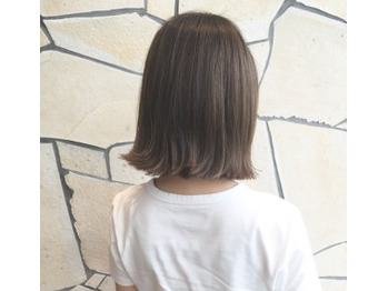 【天王寺/阿倍野】イルミナカラーで白髪染め_20191118_2