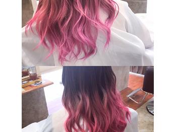 ピンク&ブラック。_20181006_1