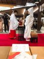 結婚式に参列(^O^)