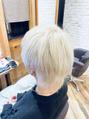 オーブ ヘアー フェアリー 鹿児島店(AUBE HAIR fairy)ホワイトカラー