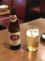氷入りビール