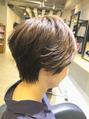 オススメ簡単スタイリングショートヘア☆☆