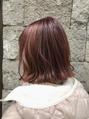 今春はピンクカラーが流行ります☆彡 担当 岩村
