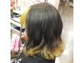 Cuore2 前髪と裾で結構ハデになるスタイル