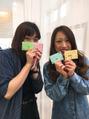 春のネームカード♪