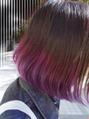 ピンク~バイオレット~パープルグラデーションカラー
