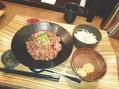 ステーキ丼♪