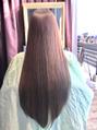 毛髪強度140%!!毛髪修復型フラーレン縮毛矯正♪