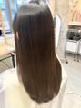 髪の素材美を大切にしているサロンです。