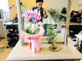 お花が届きました(^ ^)国立店