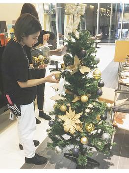 クリスマスツリーはじめました。_20171108_1