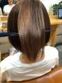 根本を縮毛矯正、毛先髪質改善♪【大泉学園】