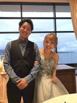 鳥巣さん結婚式(*´▽`*)_20190716_1