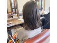 ラディアル(RadiaL HAIR DESIGN)暗髪透明感カラー