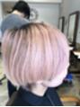 ローズピンクカラー