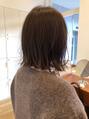 そろそろ冬支度。ストールやタートルに似合うヘア!