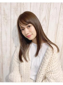 髪質改善コラーゲンカラー☆赤埴奈津子ちゃん_20181129_2