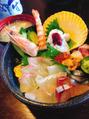 海鮮丼¥(//∇//)¥