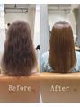 あなた史上、最高の艶髪へ…◇【髪質改善縮毛矯正】