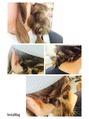 hair arrange。